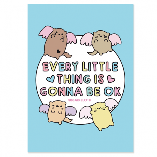 every little thing postcard
