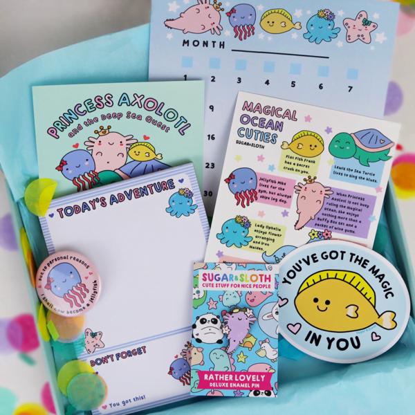 princess axolotl box