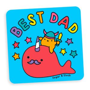 Best Dad Coaster