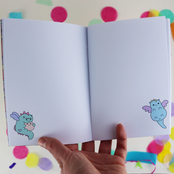 Dragon a6 notebook pages