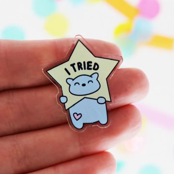 i tried pin