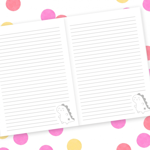 A5 notebook pages