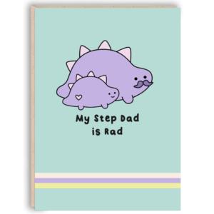 My step dad is rad card