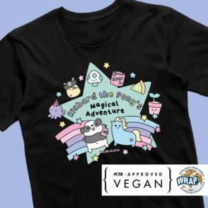 richard the pony t-shirt