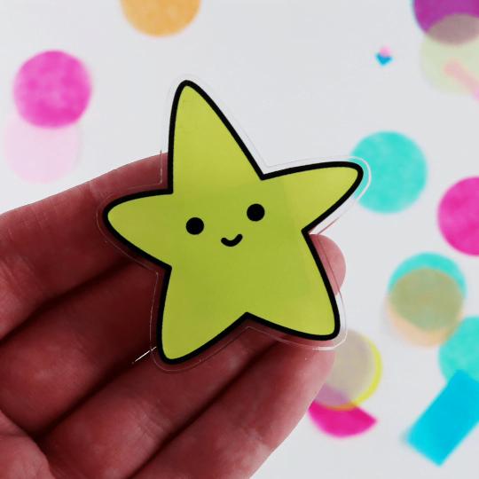 Sparkly Star Magnet