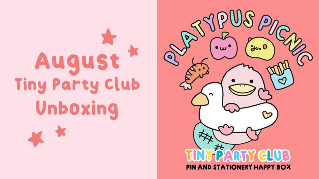 Tiny hug club stationery subscription box