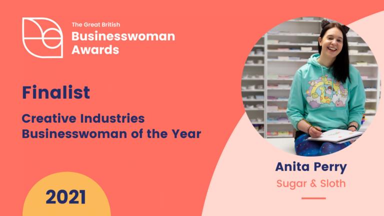 The Great British Businesswomen Awards Anita Perry