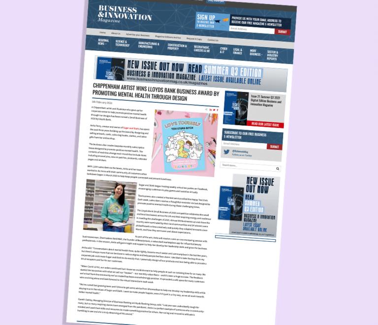 Business innovation magazine