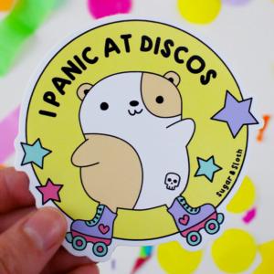 I panic at discos sticker