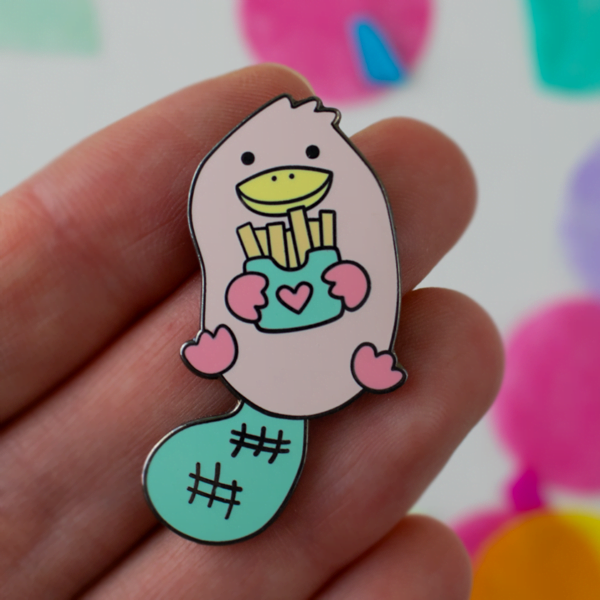 Platypuff pin