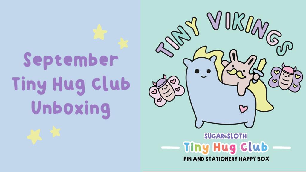 september tiny vikings tiny hug club unboxing