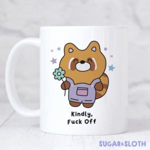 Kindly fuck off mug
